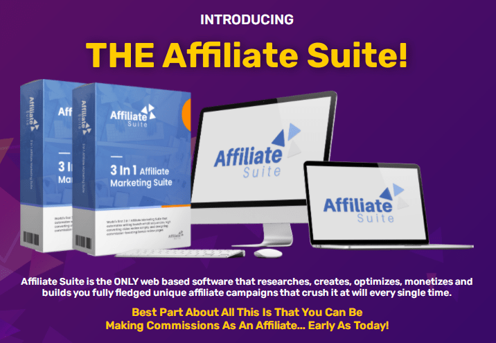 Affiliate Suite Software Review + OTO by Misan Morrison