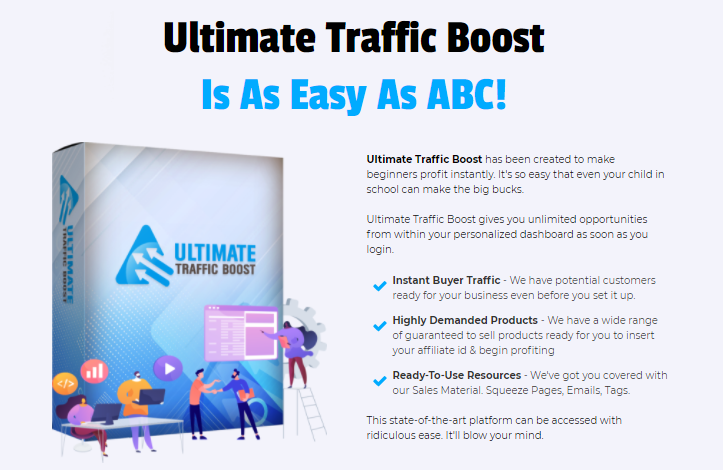 Ultimate Traffic Boost Review + OTO by Richard Fairbairn