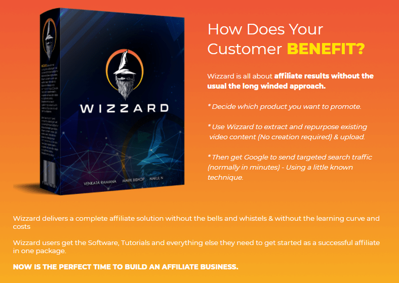 Wizzard Software Review + Upsell by Venkata Ramana