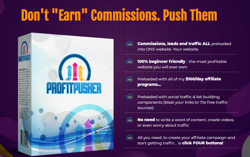 Profit Pusher App Review + OTO by Rich Williams
