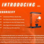 Courseify Review + OTO Upsell by Ronnie Rokk - Get 24 Ready-To-Profit Niche Courses With Your Own Membership Portal at A Big Discount', Activate In Minutes And Keep 100% Of The Profits