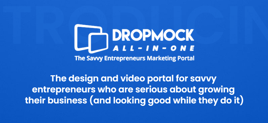DropMock All In One Marketing Portal Review, OTO UPSELL Download Link