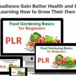 Food Gardening Basics for Beginners PLR Review & OTO by Tiffany Lambert - New PLR Package in Food Gardening Topic Give You 37 pages total a report and 20 articles that can help your readers feel confident starting the process of growing their own food.