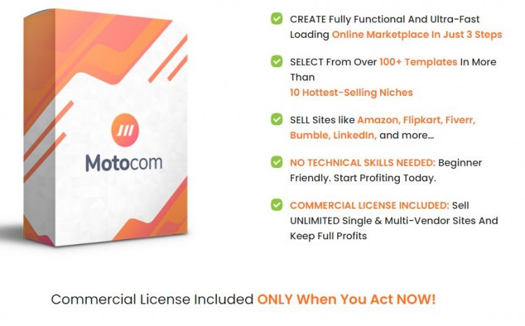 MotoCom WP Theme FE, OTO, Upsell Review and Download Here