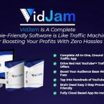 VidJam Software Review and OTO Upsell by Uddhab Pramanik - Brand New 100% Automate Your YouTube Marketing & Easily Get Unlimited FREE Traffic & Sales Without Recording Or Ranking A Single Video & No Monthly Fees.