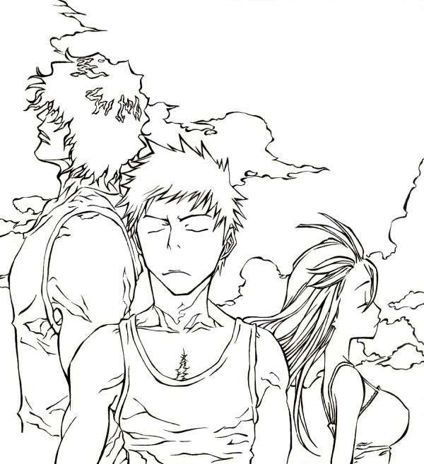 bleach coloring pages # 54