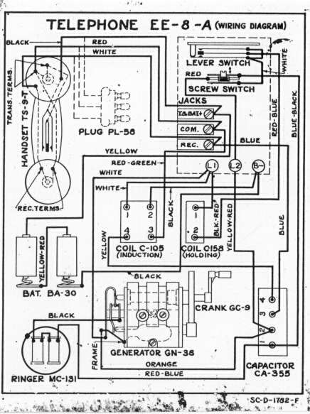 Crank Telephone Wiring Diagram