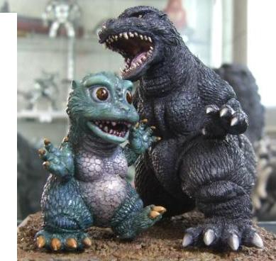 Godzilla 1994 W Little Godzilla West Kenji