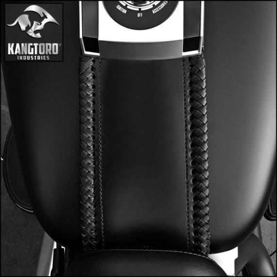 Kangtoro Industries Motorcycle Leather Softail Tank Panel