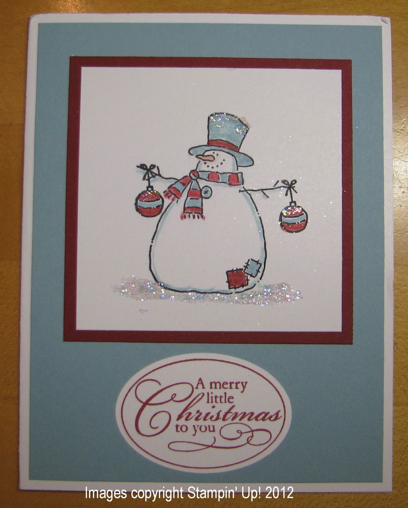 Gallery Card Christmas Stampin