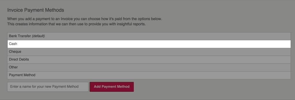 Payment Methods   KashFlow Google Chrome 3
