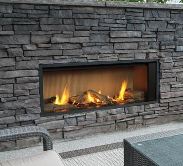 Outdoor Gas Fireplaces L1 Linear Outdoor Series Kastle