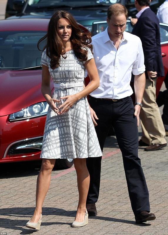 Kate Middleton Pied Terre Wedges