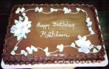 Kathey S Kakes Amp Catering Women S Birthday Cakes