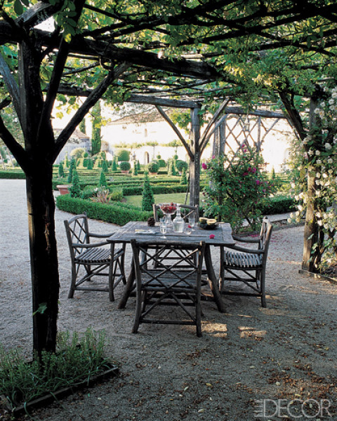 Elle Decor French Pergola The Collected Room By Kathryn