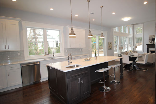 Two Tone Kitchen Cabinet Ideas K Amp B Construction Home