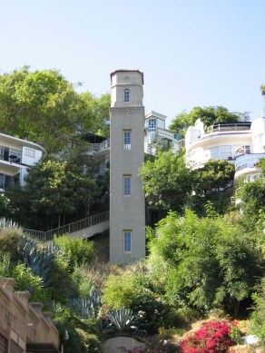 High Tower Walk in Hollywood Heights   KCET Tucked between the Hollywood Bowl and Camrose Drive in the Hollywood Hills  sits the cozy and unusual High Tower neighborhood  a place that feels like  an