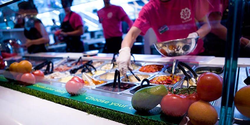 Fast Food Restaurants Vegetarian Options