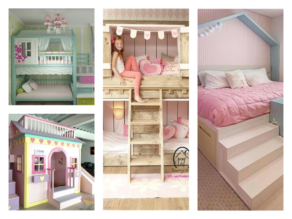Cute Bunk Bed Ideas For Girl S Kids Room