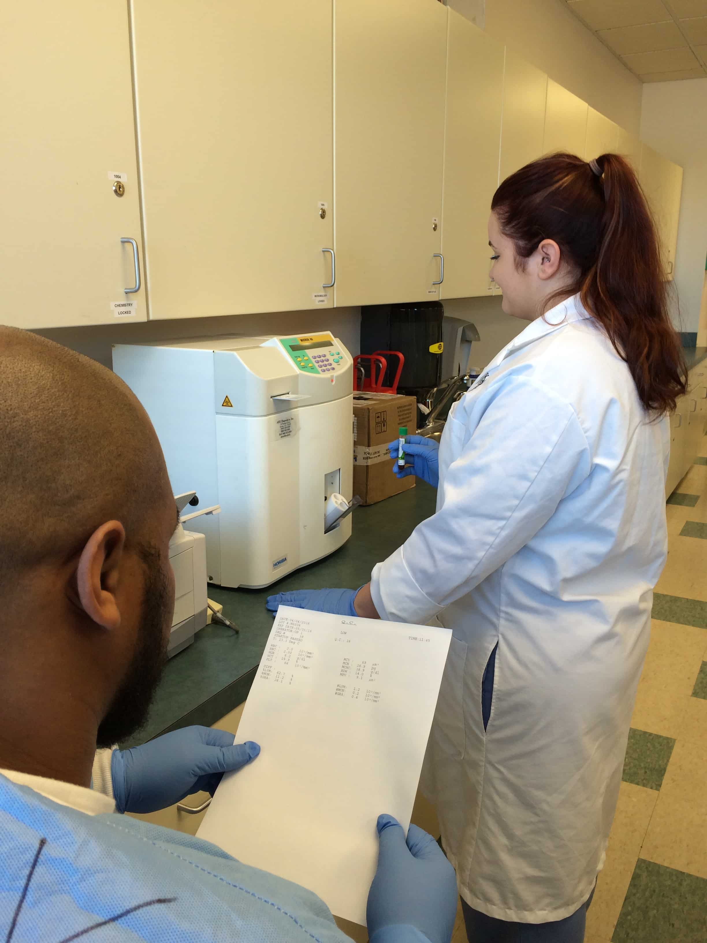 Orlando S Medical Laboratory Technician Students Learn To