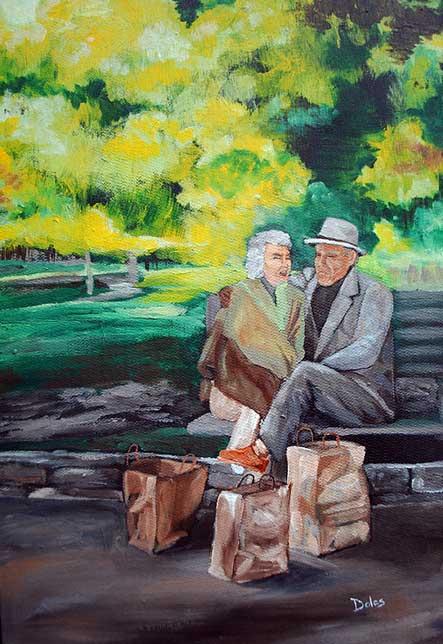 Art Street Scenes Paintings By Jacksonville Florida