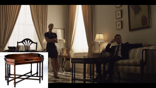 Spotted On House Of Cards The Kellogg Collection The