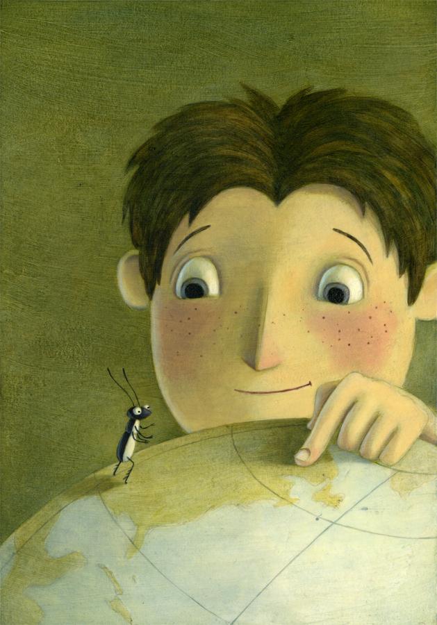 Kelly Murphy Illustration | The Miniature World of Marvin ...
