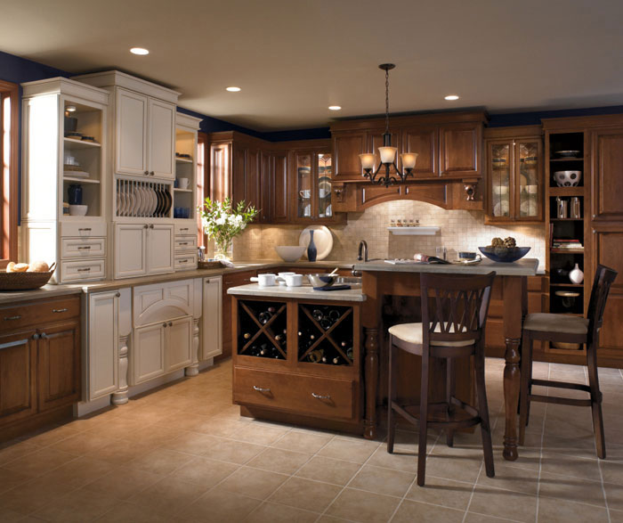 Country Style Galley Kitchens