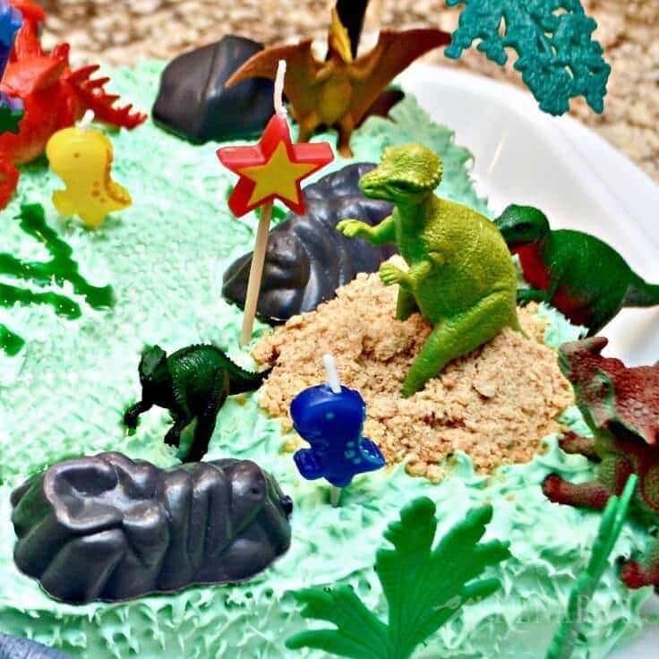 Dinosaur Birthday Cake And Amazingly Easy Party Ideas
