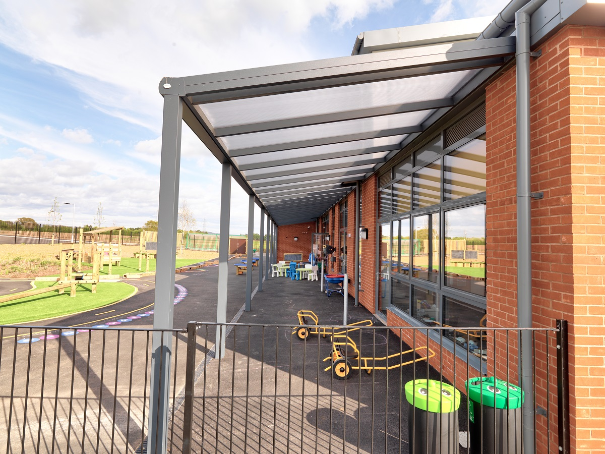 Outdoor School Canopies And Shelters Kensington