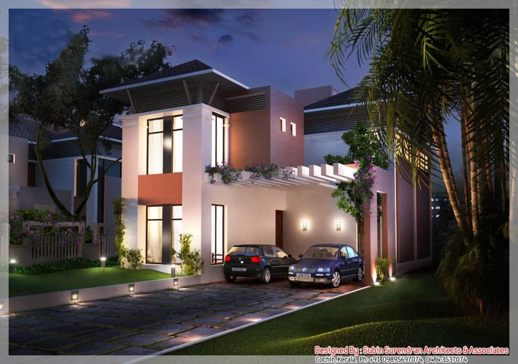 Beautiful Modern Kerala House Design At 2200 Sq Ft
