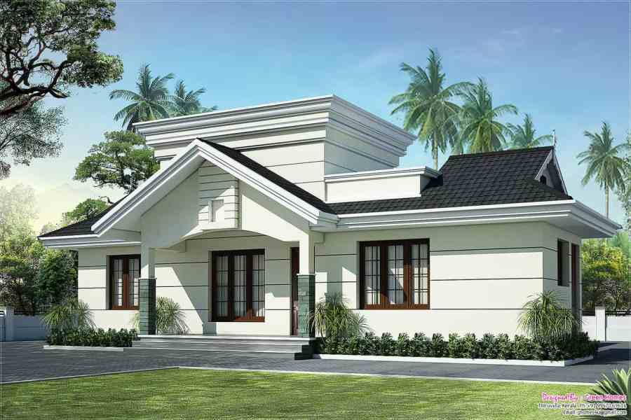 Low Cost House in Kerala with Plan   Photos   991 sq ft   KHP Advertisement