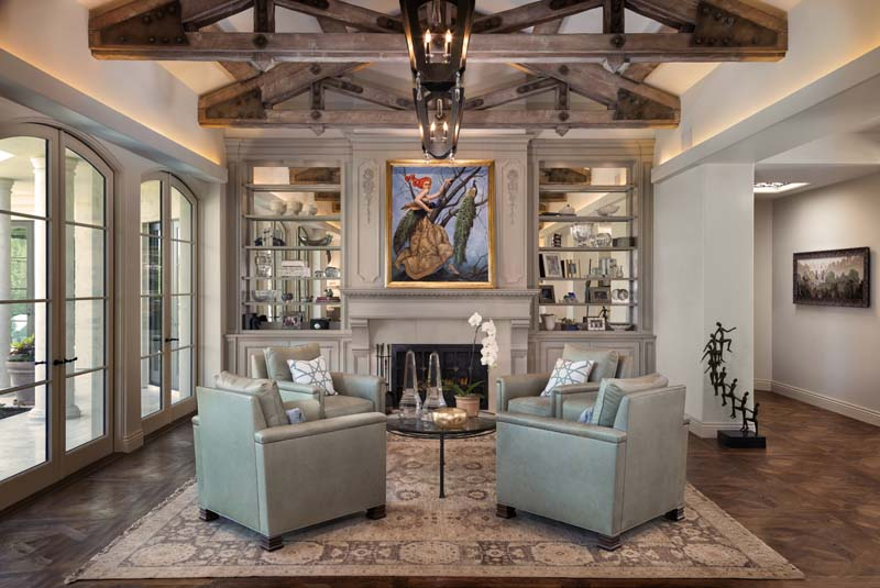 Rancho Santa Fe Interior Design   Kern   Co Spotlight  The Ranch