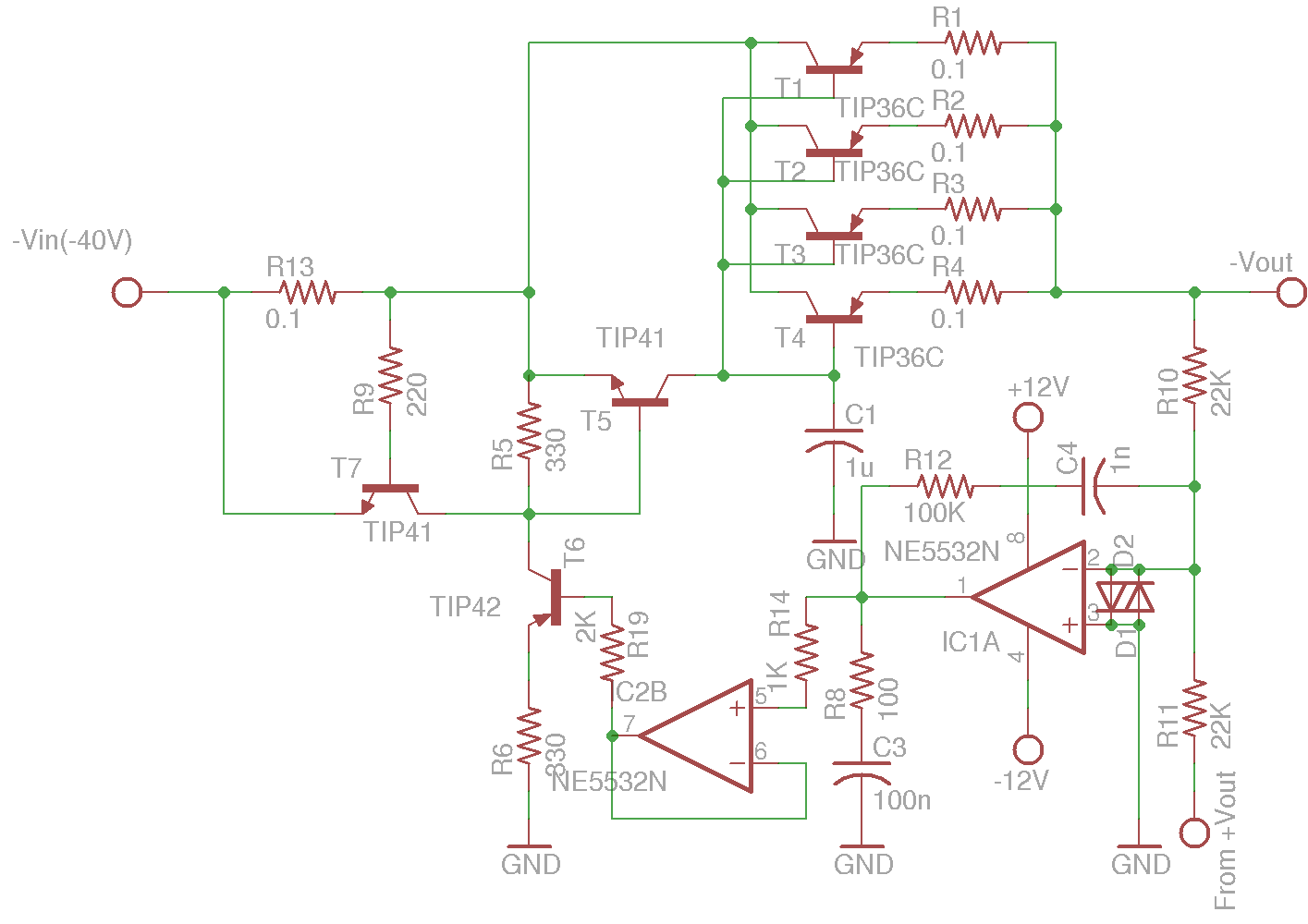 Dual Lm317 Tracking Power Circuit Supply 60v Variable Using Lm317lm337