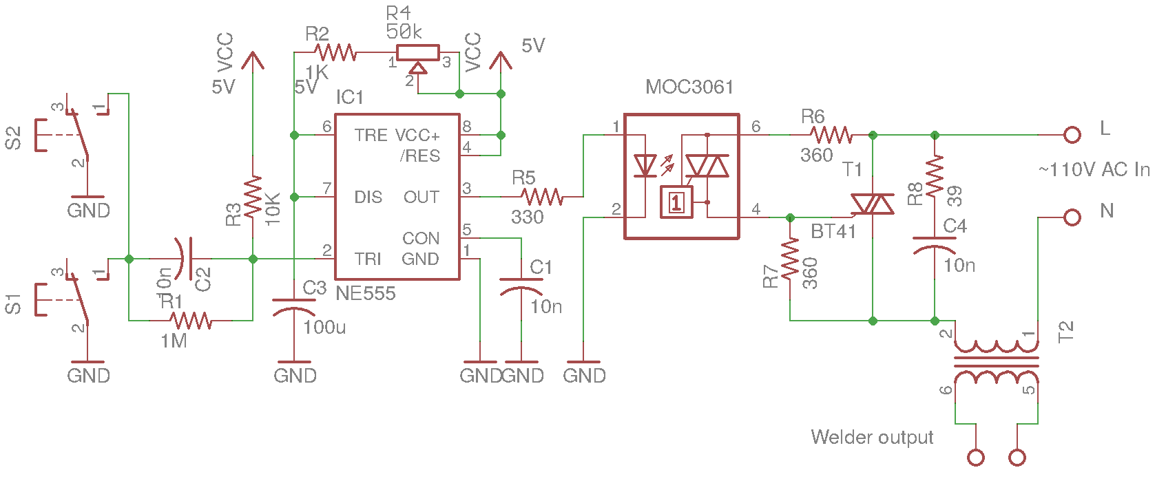 Welder Wiring Schematic Ac Diagram