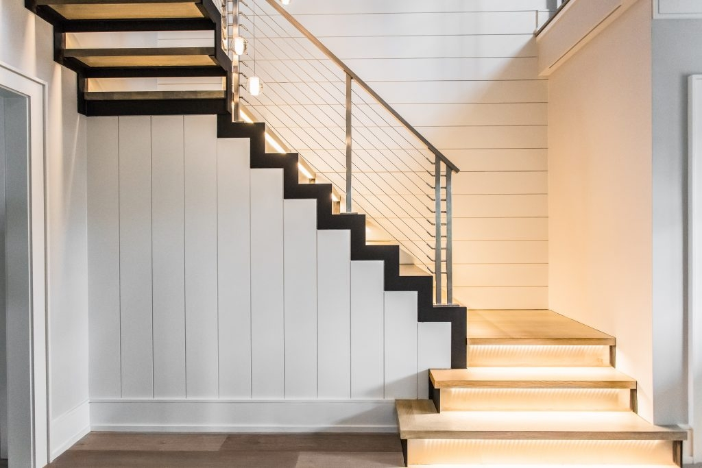 Railings For Stairs Ideas For 2019 Keuka Studios | Front Stairs Designs With Landings | 3 Step Stair | Outdoor | Granite | Small Space | Front Yard Stair