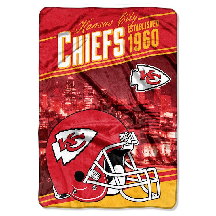 Kansas City Chiefs Queen Sized Blanket