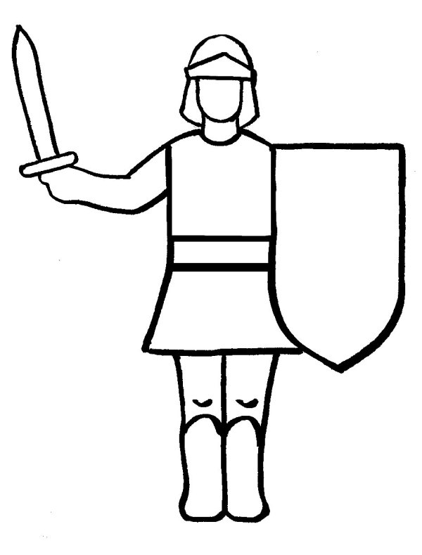knight coloring page # 65