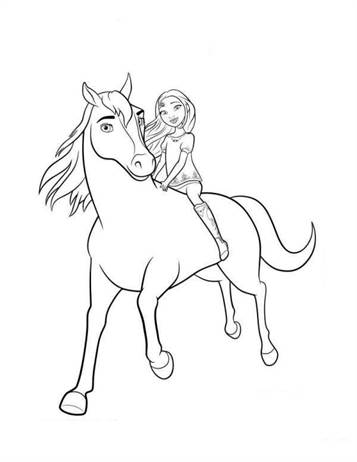 spirit stallion of the cimarron coloring pages # 15