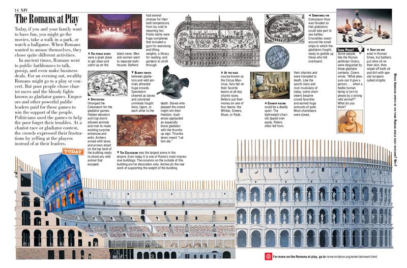 Roman Empire Kids Discover