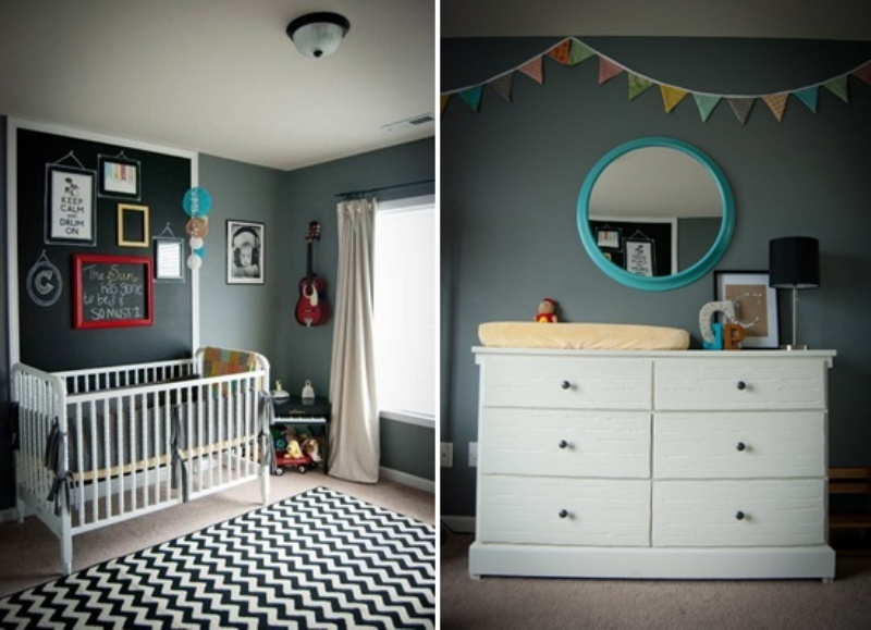 25 Stylish Kids Room Design Ideas With Dark Walls Kidsomania