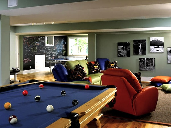 Family Game Room Decorating Ideas