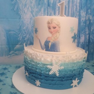Frozen First Birthday Kids Party Space