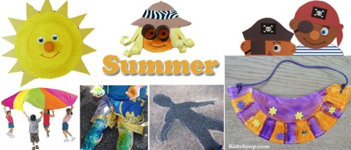 Summer Preschool Activities  Kids Crafts  Games  and Printables     Summer preschool and kindergarten activities  games  and crafts
