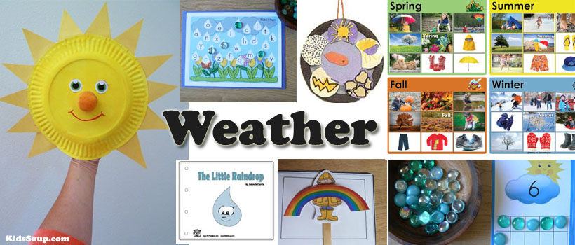 Four Seasons Activities And Printables