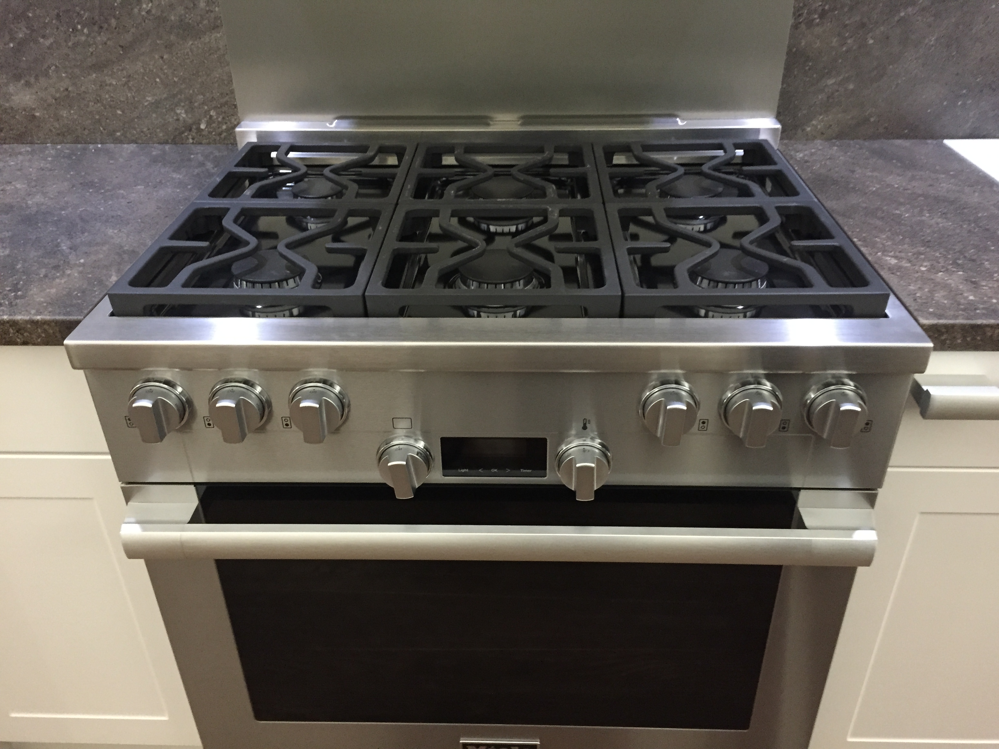 36 Gas Cooktop With Griddle