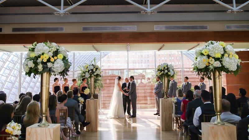 Rooftop Weddings Philadelphia Hamilton Garden Wedding Venue