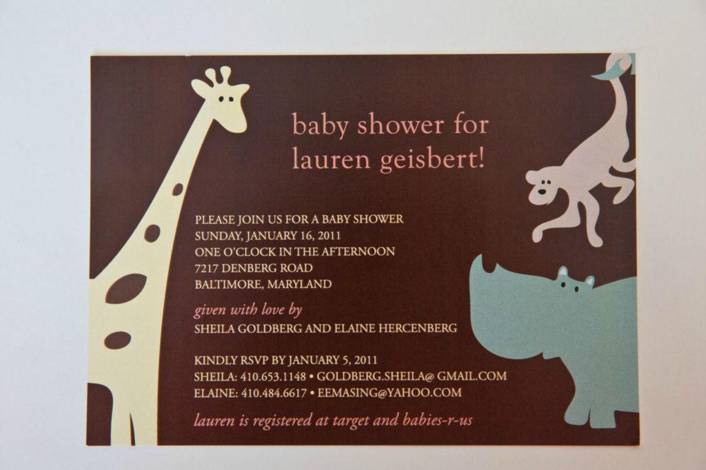 Baby Shower Invitations Rsvp