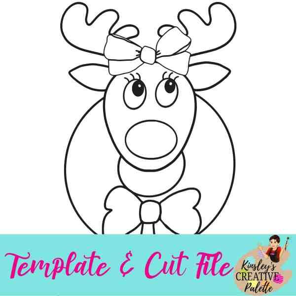 wreath template # 72