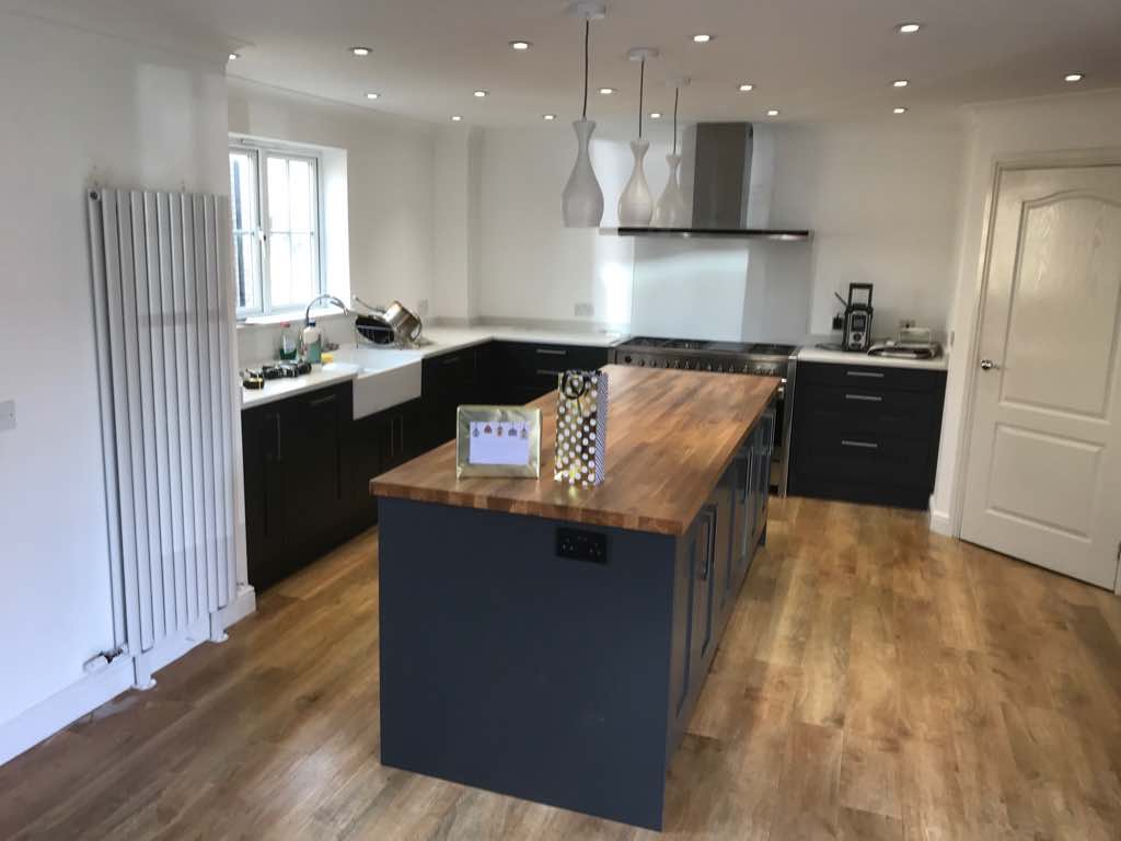 Wood Look Kitchen Worktops